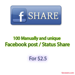 buy 100 post share