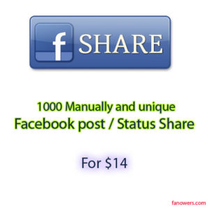 buy 1k post share