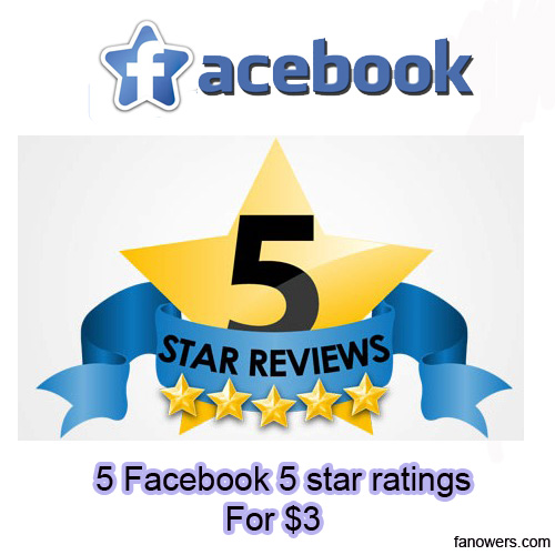 buy 5 facebook ratings and reviews