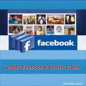 buy 2000 FB photo likes