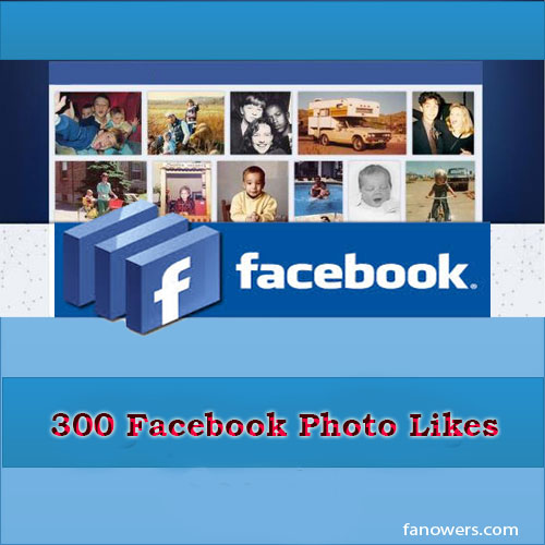 buy 300 FB photo likes