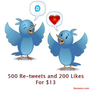 buy twitter retweets likes
